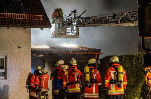 Brand in Haus von Aalener Kriminalpolizei-Direktor