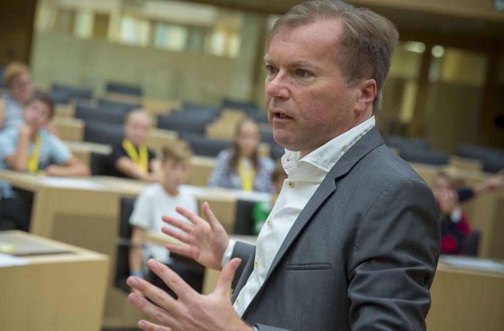 Paul Nemeth rät dazu, beim Klimaschutz die Parteibrille abzunehmen. Foto: Lichtgut/Leif-Hendrik Piechowski
