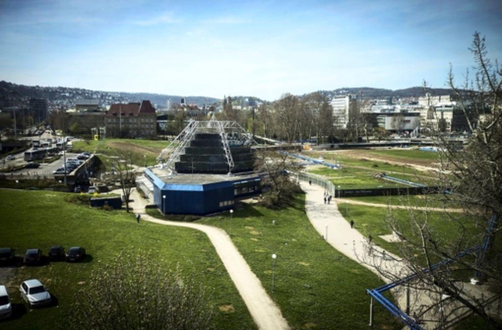 Das Planetarium bleibt im Schlossgarten. Es soll aber aufgewertet werden. Foto: Achim Zweygarth