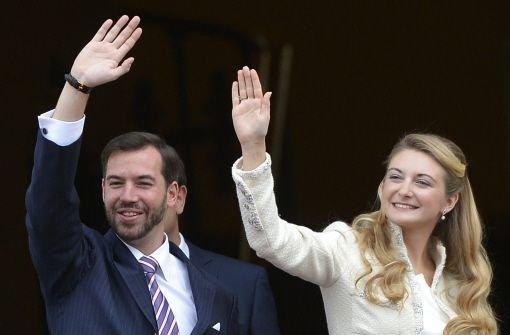 Guillaume und Stéphanie sagen Ja