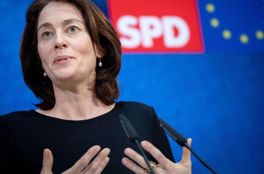 Auf Linkskurs – jetzt hat die SPD nachgelegt und ihre Bundesministerin für Justiz und Verbraucherschutz vorgeschickt. Foto: dpa