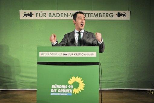 Grünen-Chef Özdemir:   Kurs zur Mitte   hin ist   erfolgreich. Foto: dpa