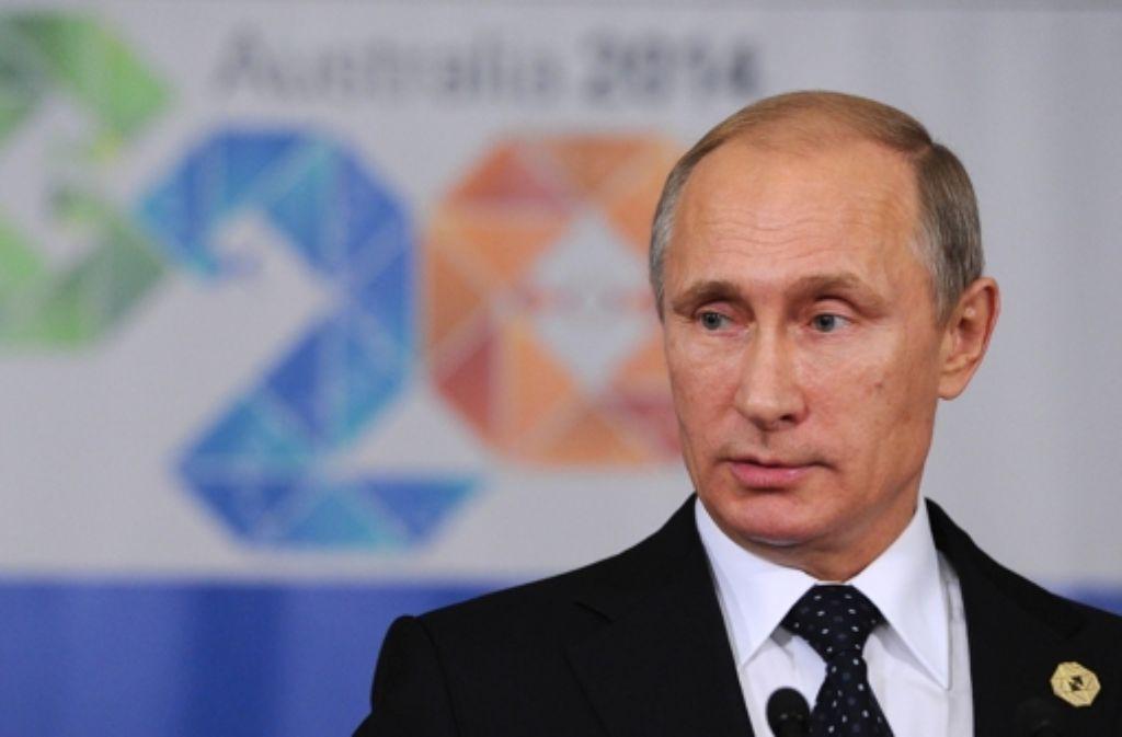 Russlands Präsident Putin ist in der Weltpolitik weitgehend isoliert. Foto: a