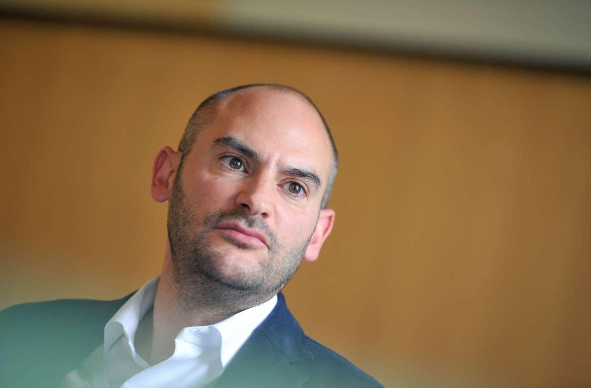 Baden-Württembergs Finanzminister Danyal Bayaz weist die Kritik am Projekt zurück. (Archivbild) Foto: Lichtgut/Max Kovalenko