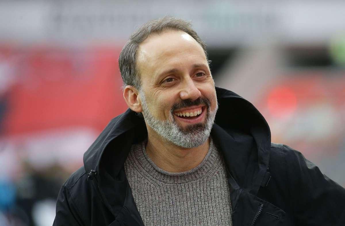 Pellegrino Matarazzo sitzt fest im Sattel beim VfB Stuttgart - seit Ende 2019 ist er Trainer bei den Weiß-Roten. Foto: Pressefoto Baumann