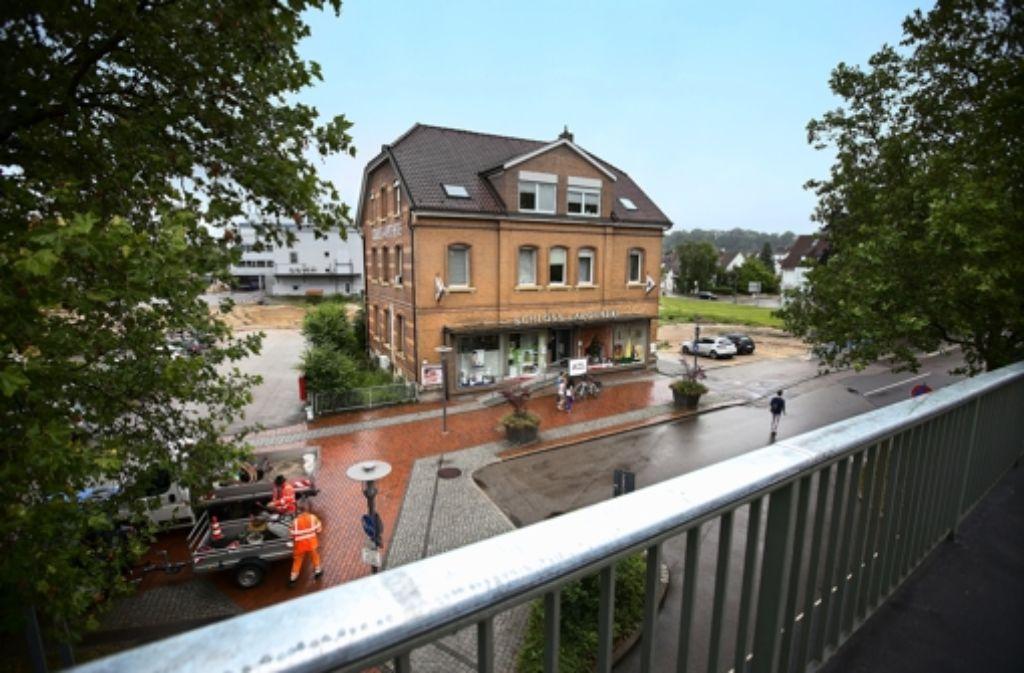 Hinter der Apot Foto: Horst Rudel