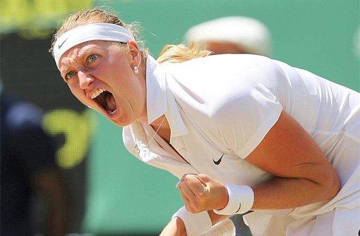 Kvitova ist erste Wimbledon-Finalistin