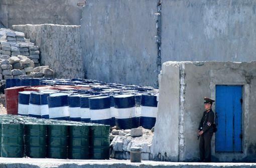 Peking bestreitet illegale Öllieferungen an Nordkorea
