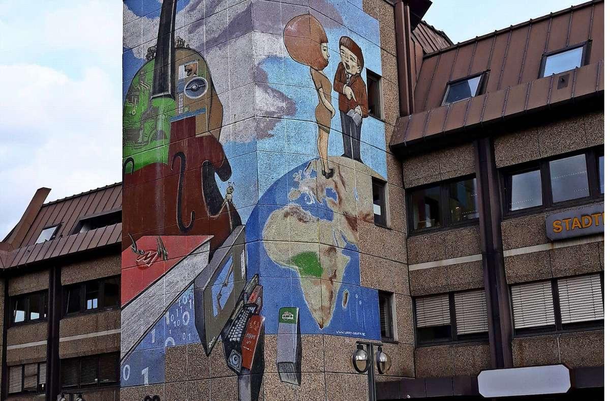 Auch das Kulturzentrum ist Teil des Foto: Bernd Zeyer