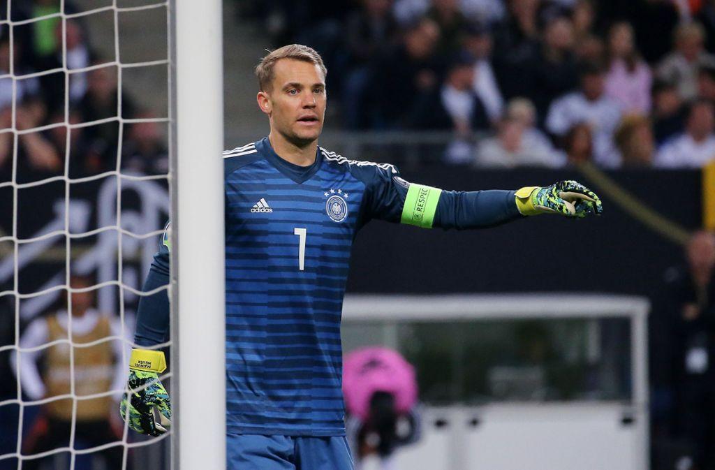 Manuel Neuer hat Ärger mit seinem Ausrüster. Foto: Pressefoto Baumann/Julia Rahn
