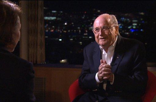 Blatter wettert erneut gegen Sperre