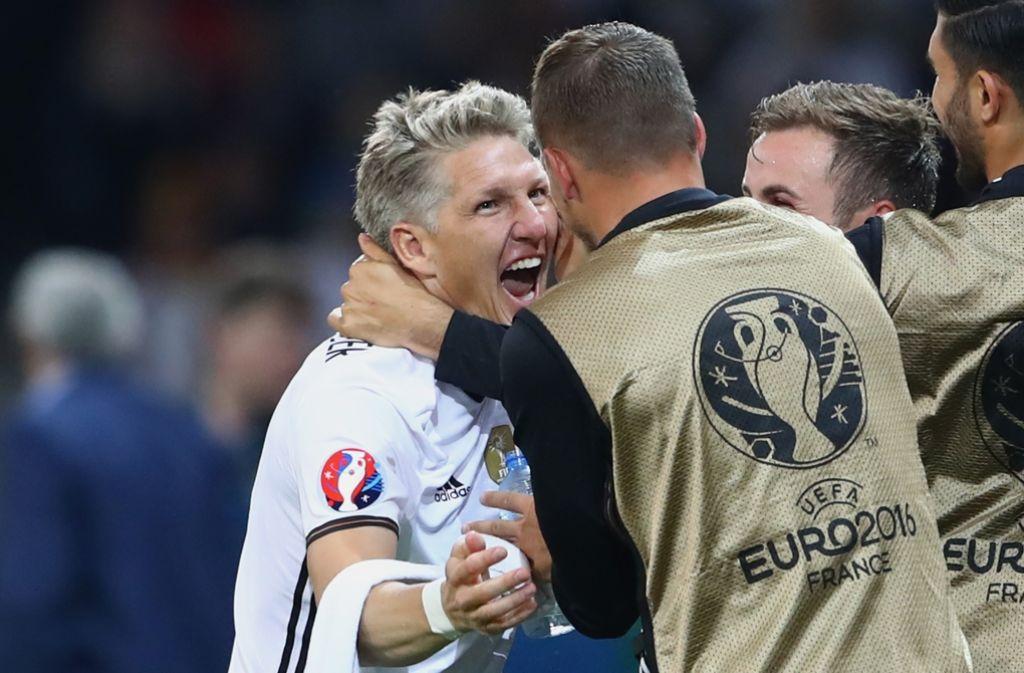 Umjubelter Rückkehrer: Bastian Schweinsteiger Foto: AFP