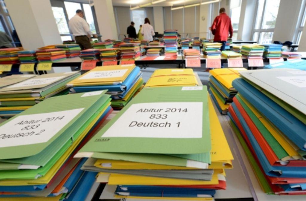 Wie kann das Abitur bundesweit einheitlich werden? Foto: dpa