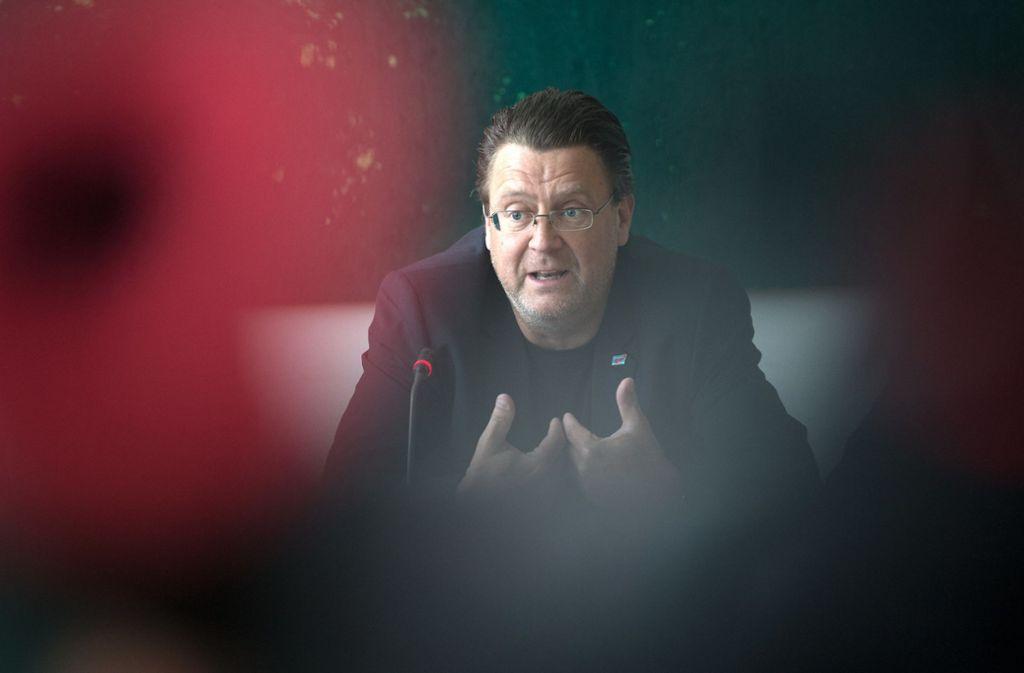 """Stephan Brandner hatte etwa eine Auszeichnung an Udo Lindenberg als """"Judaslohn"""" bezeichnet. (Archivbild) Foto: dpa/Ralf Hirschberger"""