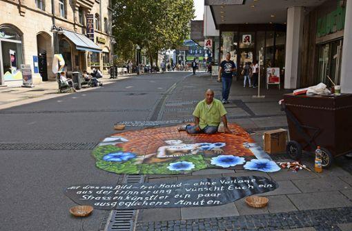 Bunte Farben in der Marktstraße