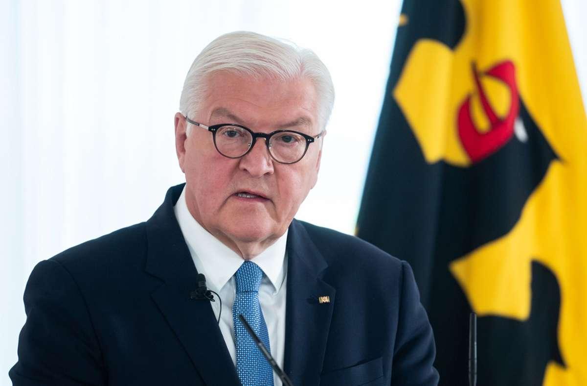 Es kann dauern, bis Bundespräsident Steinmeier den neuen Kanzler vorschlägt. Foto: dpa/Bernd von Jutrczenka