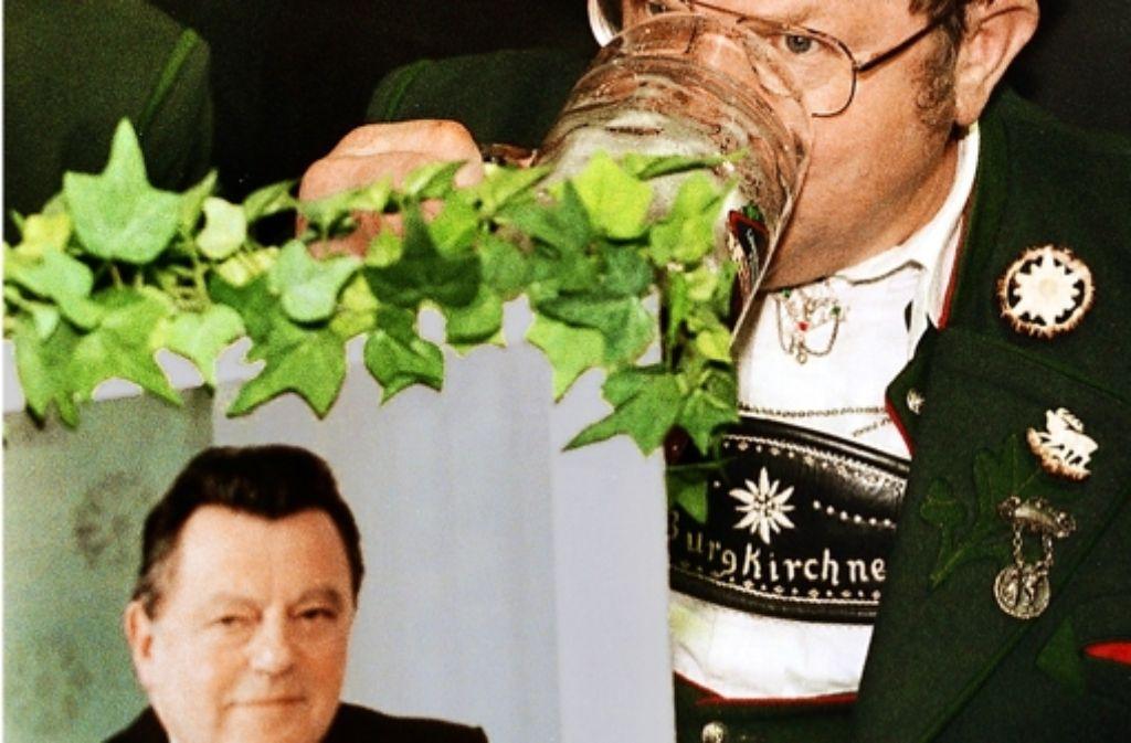 Franz-Josef Strauß hat den politischen Aschermittwoch in Bayern begründet Foto: dpa