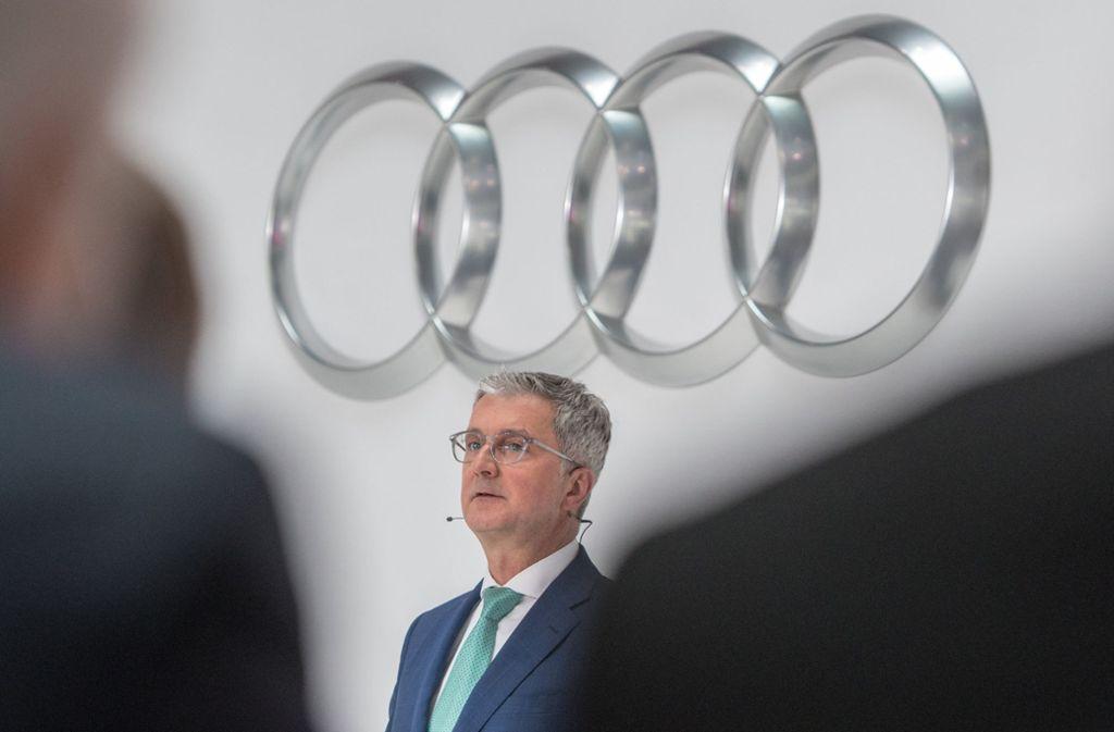 Audi-Chef Stadler sitzt derzeit in U-Haft Foto: dpa