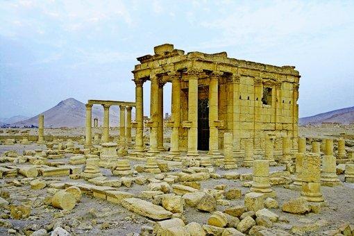 Zerstörung Palmyras hat begonnen