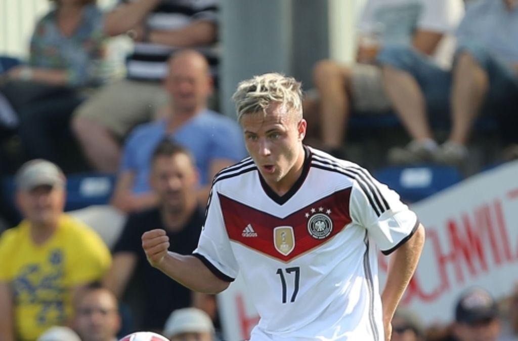Felix Lohkemper vom VfB Stuttgart ist für die U20-WM in Neuseeland nominiert. Foto: Bongarts