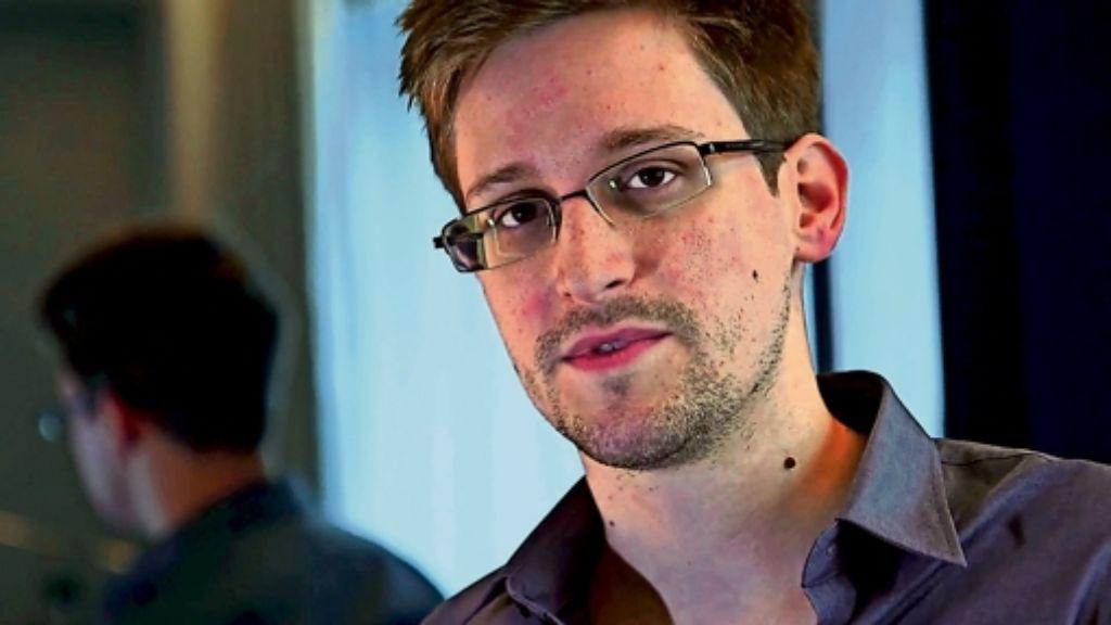 Edward Snowden kann den Preis nicht persönlich entgegennehmen. Foto: