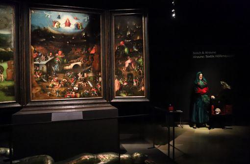 Textile Höllenqualen im Museum
