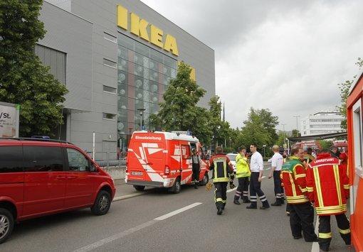 Großalarm bei Ikea