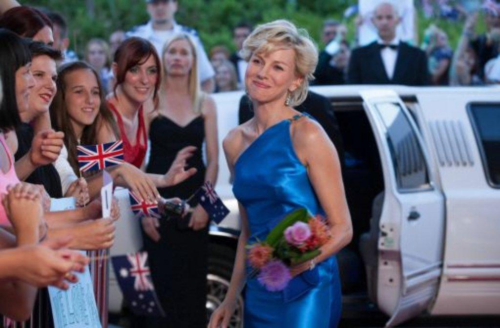 Große Auftritte waren Lady Dis Spezialität: Naomi Watts im Film Diana ... Foto: Concorde Filmverleih