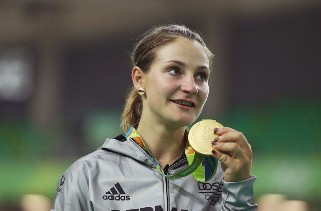 Zweimal hat Bahnradfahrerin Kristina Vogel olympisches Gold geholt. (Archiv) Foto: Getty Images South America