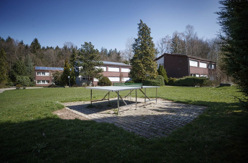 In einem ehemaligen Freizeitzentrum sollen infizierte Asylbewerber unter Quarantäne gestellt werden. Foto: Gottfried Stoppel