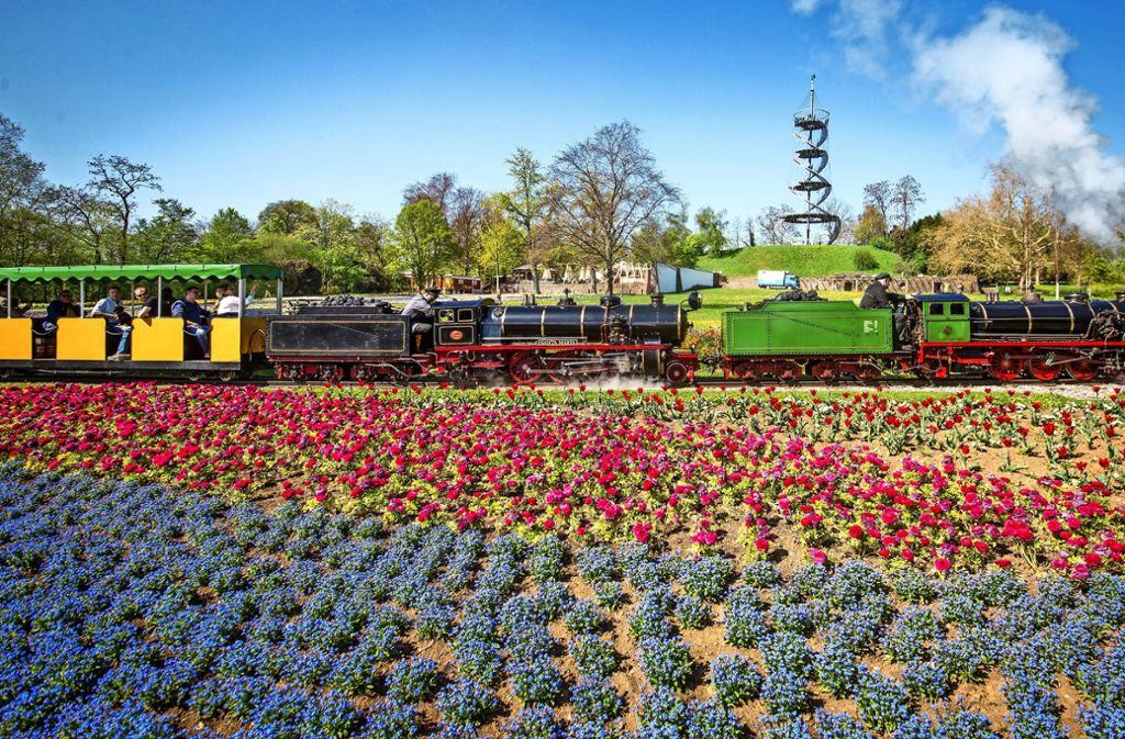 In diesem Jahr feiert die Killesberg-Bahn  ihren 80. Geburtstag. Foto: Lichtgut/Christoph Schmidt