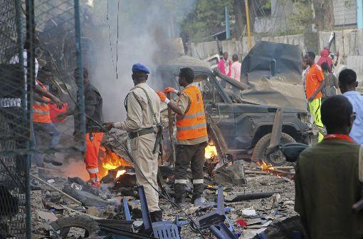 Explosion in Somalia - Tote und Verletzte