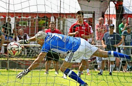 Fußballturnier auf den Punkt gebracht