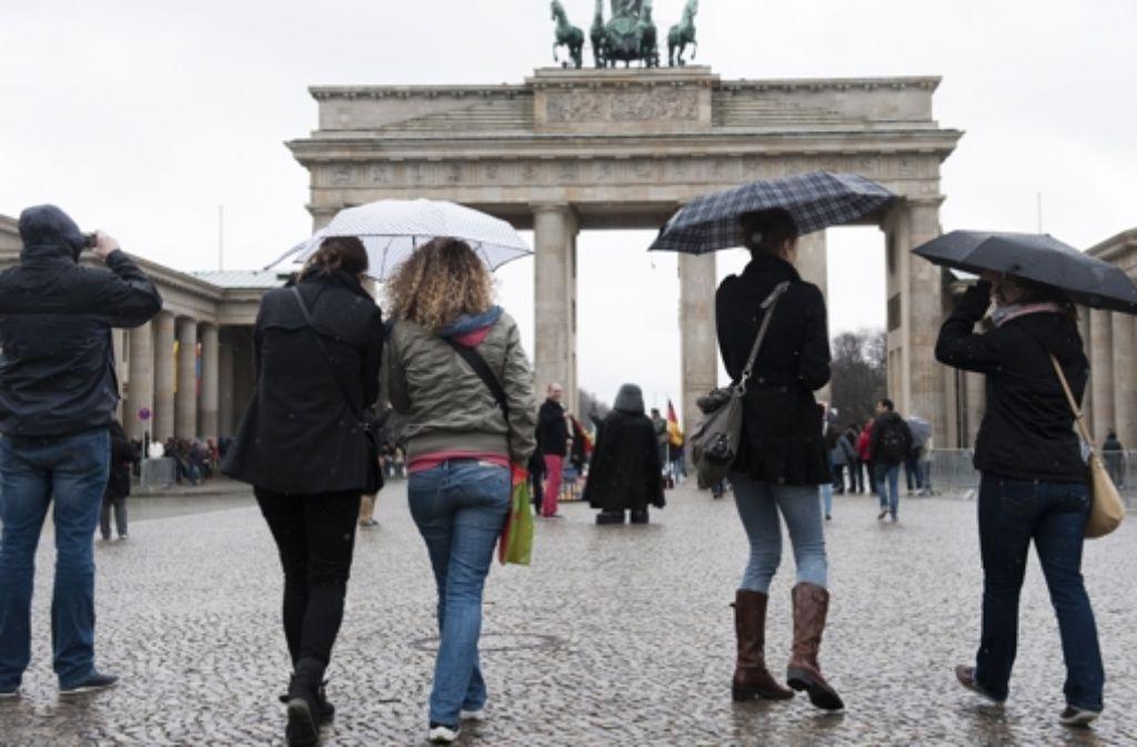 Berlin ist bei Touristen beliebt. Foto: dapd