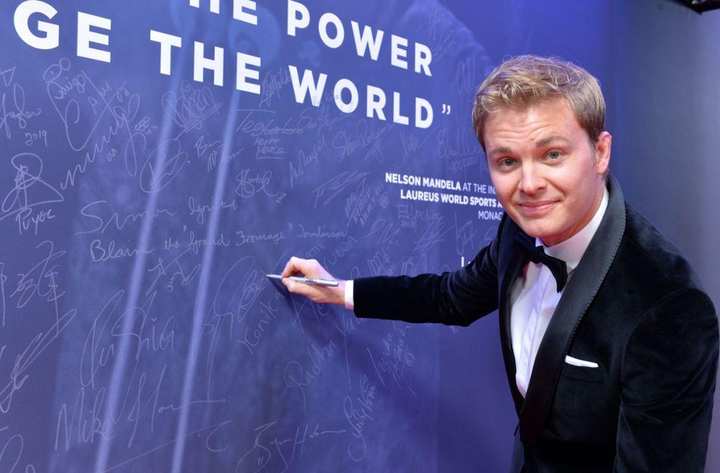 Die Umwelt liegt Nico Rosberg am Herzen. Foto: Getty