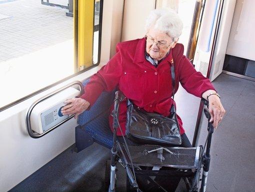Sicher in  Bus und Bahn