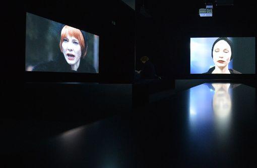 Video-Installation zeigt Cate Blanchett