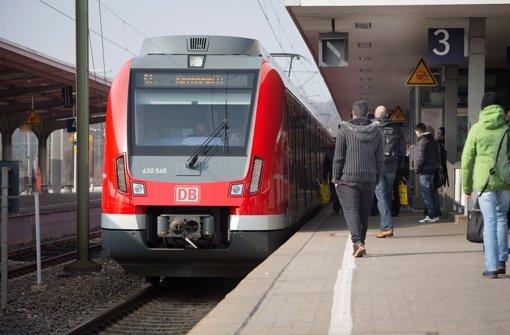 S-Bahnen bei Bad Cannstatt fahren wieder normal