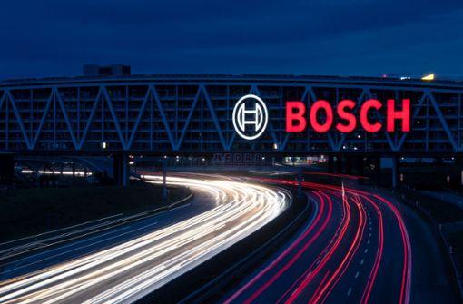 Bosch verzeichnet deutlichen Umsatzrückgang