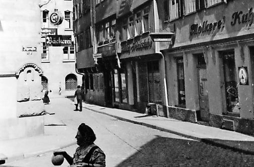 Stuttgarts verschwundene Straßen