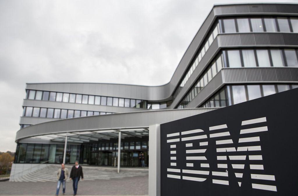 IBM und die Gewerkschaft Verdi befinden sich in Tarifverhandlungen. Foto: dpa/Silas Stein
