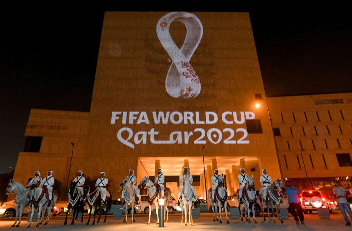 Die Fußball-WM findet 2022 in Katar statt. Foto: dpa/Nikku