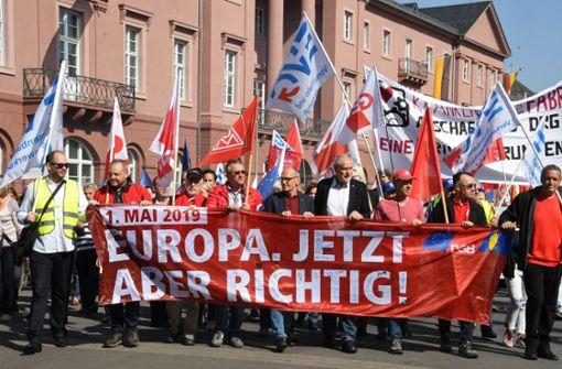"""DGB mit Motto """"Europa. Jetzt aber richtig!"""""""