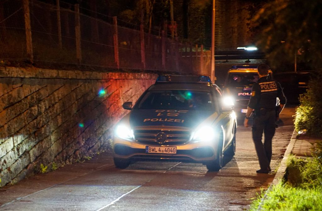 Die Polizei rückte mit mehreren Streifen an. Foto: 7aktuell.de/Andreas Werner