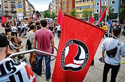 Warum die Antifa-Demo eskalierte