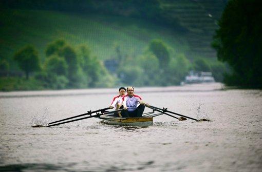 Schwäbische Sportlichkeit auf dem Fluss