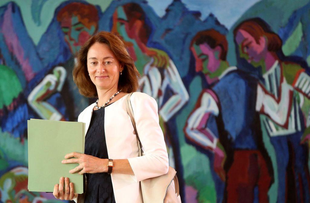 """Bundesjustizministerin Katarina Barley begrüßt die """"überfällige"""" Modernisierung. Foto: Getty Images Europe"""