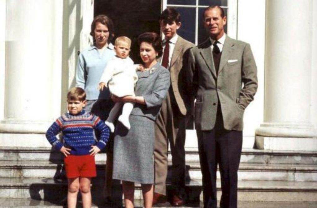 Nur Formal Spielt Prinz Philip Bei Den Royals Die Zweite Geige Der