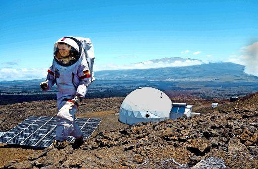 Diese Forscherin lebte ein Jahr lang wie auf dem Mars