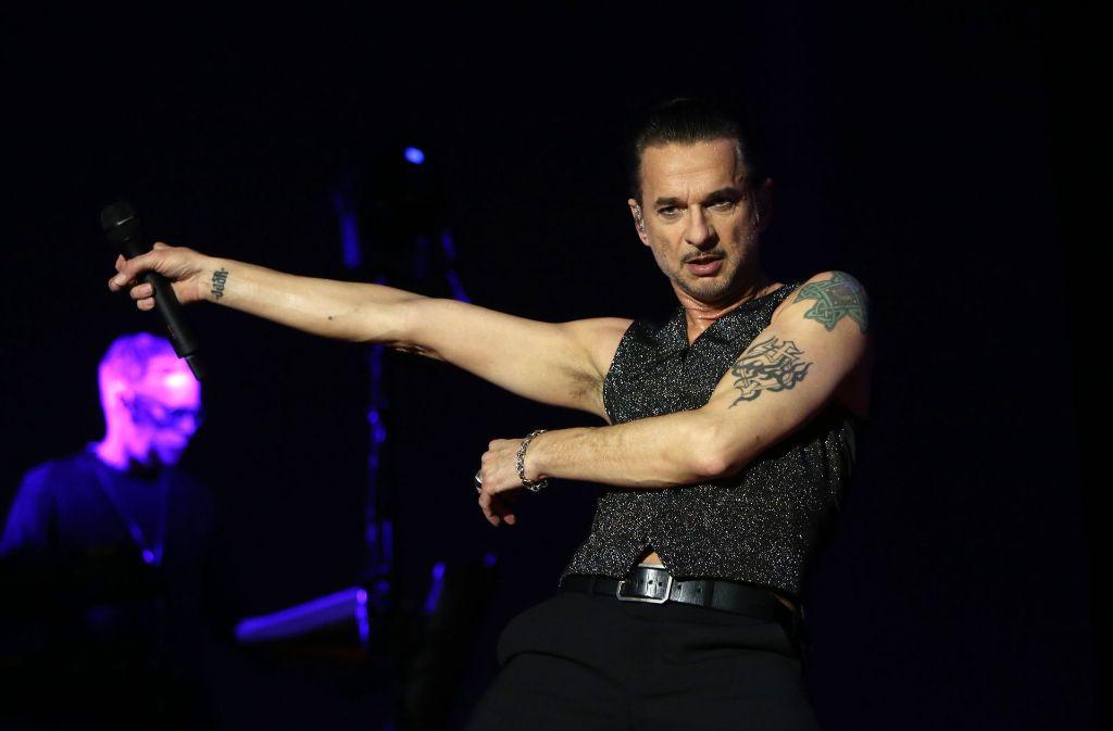 Dave Gahan ist mit seinen Kollegen von Depeche Mode zurzeit auf der Global Spirit Tour. Foto: dpa